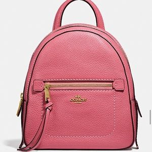 💕🆕 COACH PEBBLED LEATHER ROSE ANDI BACKPACK💕